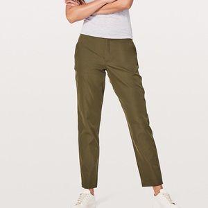 Lululemon & go City Trek trousers 6